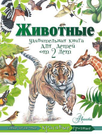 Животные. Удивительная книга для детей от 2 лет