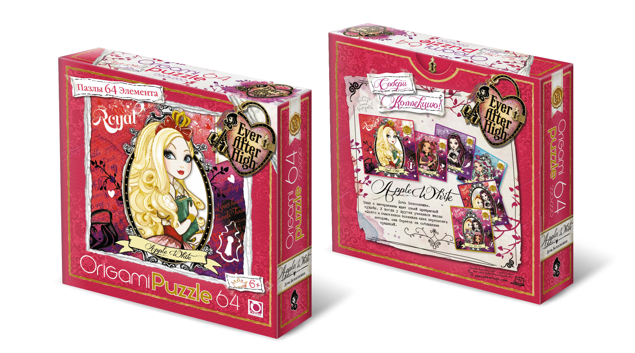 Ever After High.Пазл.64A.00679 игрушка вуди набор башмачок wi 00679