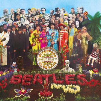 Пазл 289 эл. Коробки квадрат Битлз. Sgt. Pepper's Lonely Hearts Club Band
