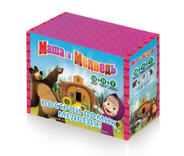 """Маша и Медведь. Игровой набор """"Собери домик медведя"""" арт.01205"""