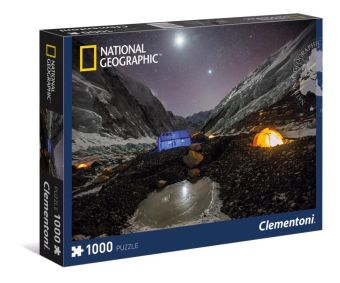 CLem.National Geographic.Пазл.1000 эл. 39310 Кемпинг на Эвересте (n)