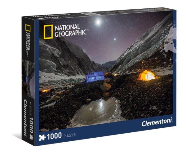 Пазл 1000 эл. National Geographic. Кемпинг на Эвересте