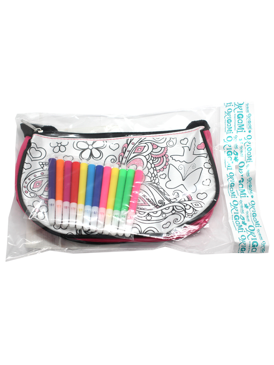 Х5 Чудо-Творчество. сумка - мини модница / тубус для раскраш-ния, в асс., в пак.