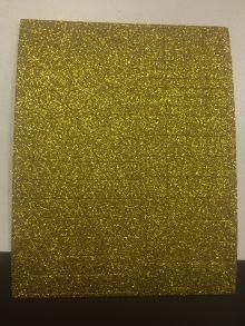ПФ. EVA золотой глиттер, большой. Арт. 02667