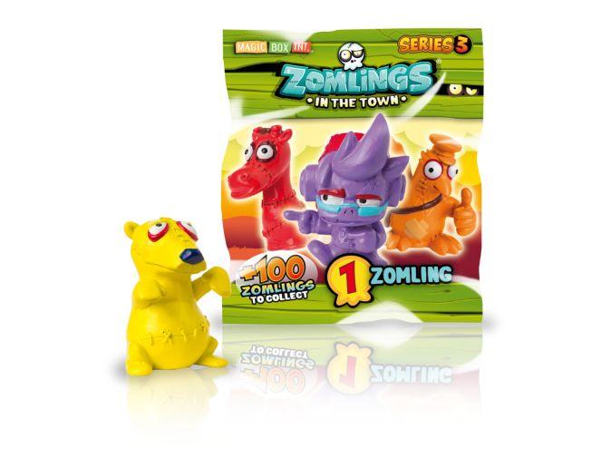 Фигурка. Zomlings in the town. 3  серия (1 фигурка) арт. ZM30101
