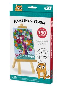 Origami Cat. Алмазные узоры. Sweet cat's home арт. 03213