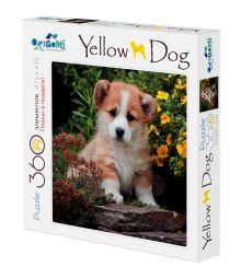 Собаки.Пазл.360Эл. +плакат.Щеночек в саду.03469