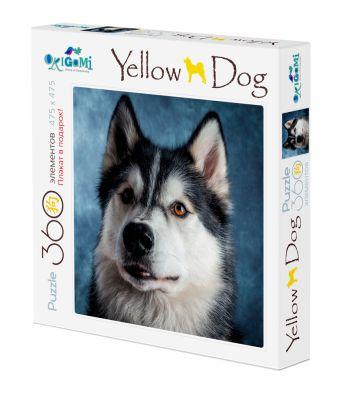 Собаки.Пазл.360Эл. +плакат.Хаски.03467