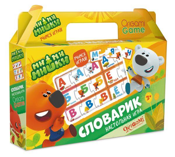 Настольная игра МиМиМишки в чемодане. Словарик