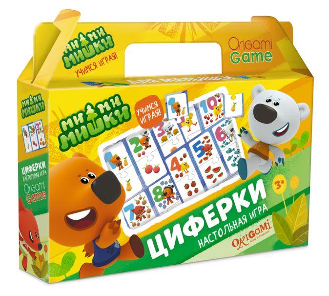 Настольная игра МиМиМишки в чемодане. Циферки