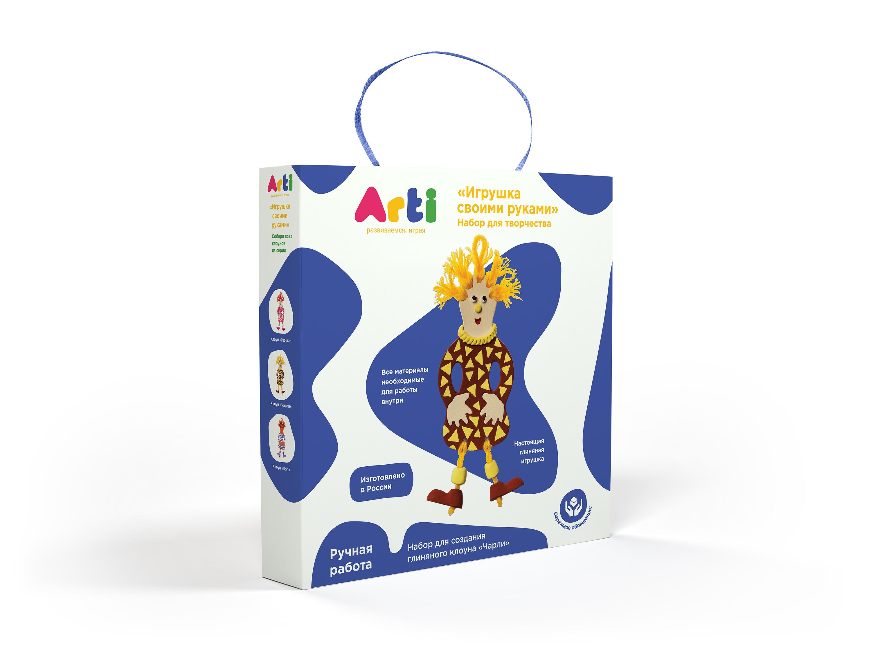 "Arti.Набор для создания глиняного клоуна ""Чарли"""
