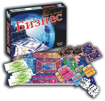 Наст.игр.:ТГ.Бизнес.Игра на деньги арт.01185