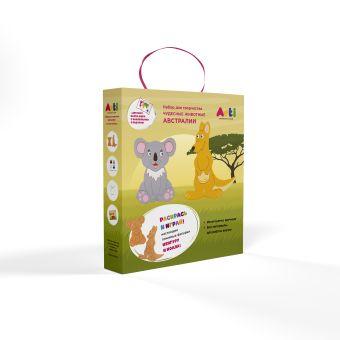 """Arti.Набор для творчества """"Чудесные животные Австралии"""" Кенгуру и коала"""