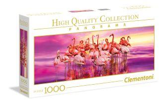 CLem.Пазл. 1000эл.   Панорама.39427 Завораживающий танец фламинго