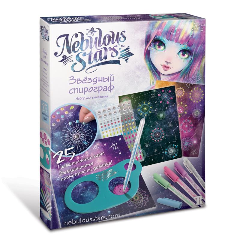 Nebulous Stars. Набор для рисования. Звездный спирограф. Арт.11106