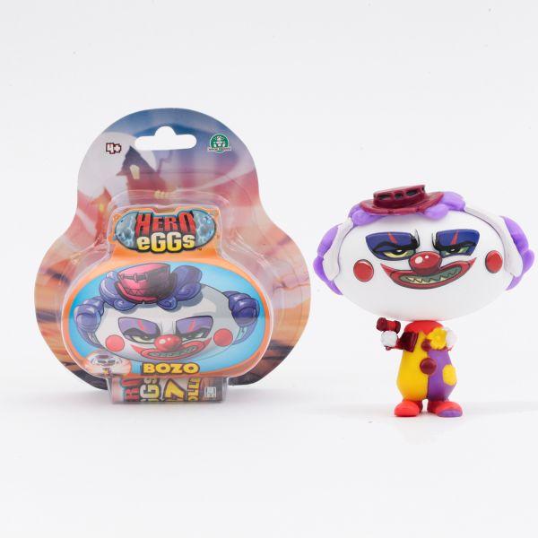"""HERO EGGS. Серия""""Монстры"""" Коллекция игровых фигурок. Клоун. Блистер. Арт. 04142"""