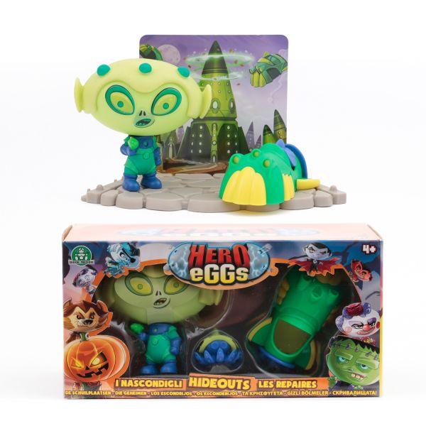 Коллекция игровых фигурок. HERO EGGS. Ален коллекция игровых фигурок hero eggs франкенштейн и ален