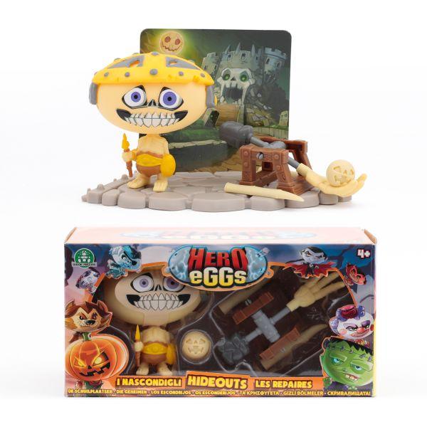 Коллекция игровых фигурок. HERO EGGS. Скелетон коллекция игровых фигурок hero eggs франкенштейн и ален