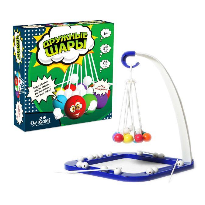 Настольная игра. Дружные шары