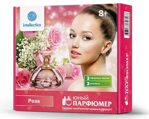Опыты. Набор для творчества Юный парфюмер. Мини-роза набор для творчества intellectico юный парфюмер мини апельсин 717