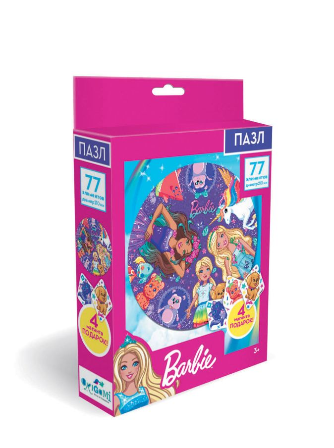 Пазл 77 эл. Барби. Барби и друзья