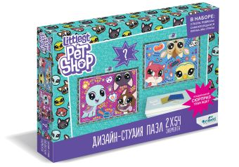 Littlest Pet Shop.Дизайн-студия.Диптих 2х54.Веселые времена. +сюрприз.04420