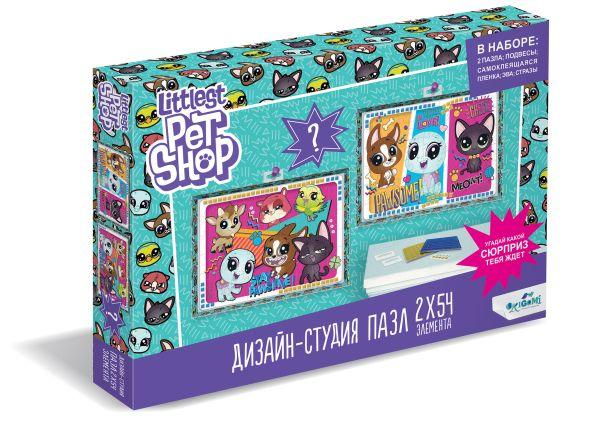 Пазл 54 эл. Диптих Littlest Pet Shop. Всегда вместе пазл 54 эл диптих littlest pet shop город зверей