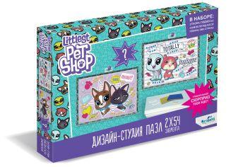 Пазл 54 эл. Диптих Littlest Pet Shop. Лучшие друзья