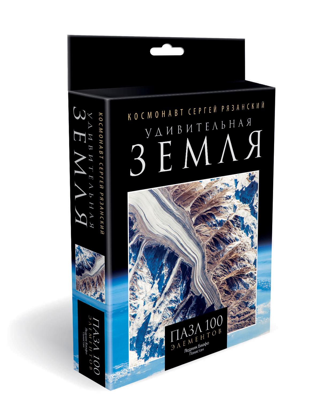 Удивительная Земля.Пазл. 100Эл.Ледник Биафо. +календарик-пирамидка.04552