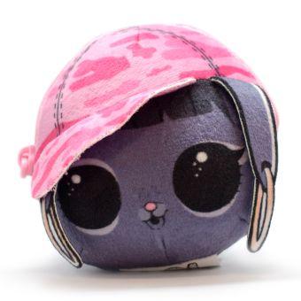 LOL BunnyHun. Плюшевая сумочка-антистресс с сюрпризом внутри.  Игрушка-антистресс. браслет. шармик. 3 пред. арт. LLD15300/RU