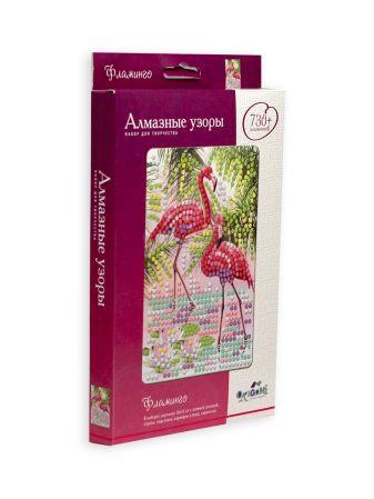 Алмазные узоры. Фламинго. 10*15см арт. 04728