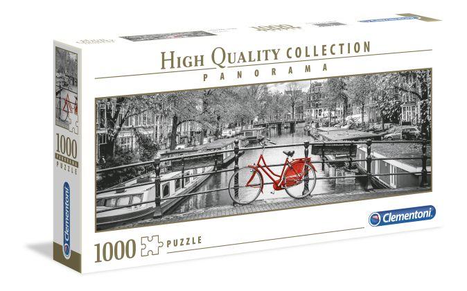 Пазл панорамный 1000 эл. Амстердам