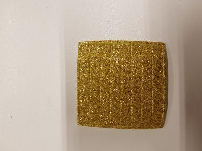 ПФ. EVA золотой глиттер, малый. Арт. 04763 - фото 1