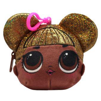 LOL QueenBee. Плюшевая сумочка-антистресс c эффектом глиттера и сюрпризом внутри. В наборе: игрушка-антистресс, браслет, шармик. 3 пред. арт. 04907