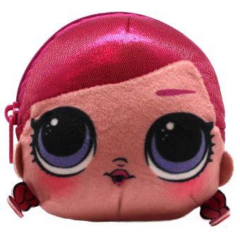 LOL MCSwag. Плюшевая сумочка-антистресс c эффектом глиттера и сюрпризом внутри. В наборе: игрушка-антистресс, браслет, шармик. 3 пред. арт. 04909