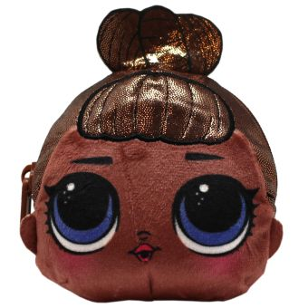 LOL MissBaby. Плюшевая сумочка-антистресс c эффектом глиттера и сюрпризом внутри. В наборе: игрушка-антистресс, браслет, шармик. 3 пред. арт. 04912