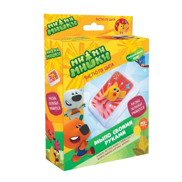 МиМиМишки. Набор для мыловарения Чистюля Цыпа. Арт. 04851 аппликация eva origami мимимишки кеша и цыпа 25 17 5см 03710