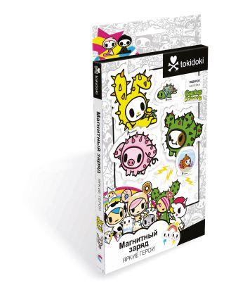 ТокиДоки.Магнитные сказки мини.Cactus Friends. +наклейки.04964