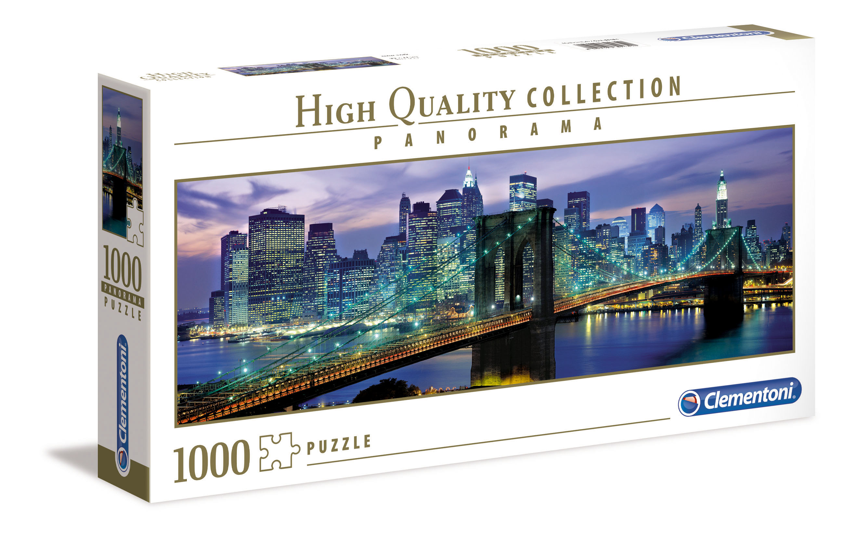 CLem.Пазл. 1000эл. Панорама.39434 Нью Йорк Бруклинский мост декобокс postermarket бруклинский мост в нью йорке 50 х 70 см dc 7010