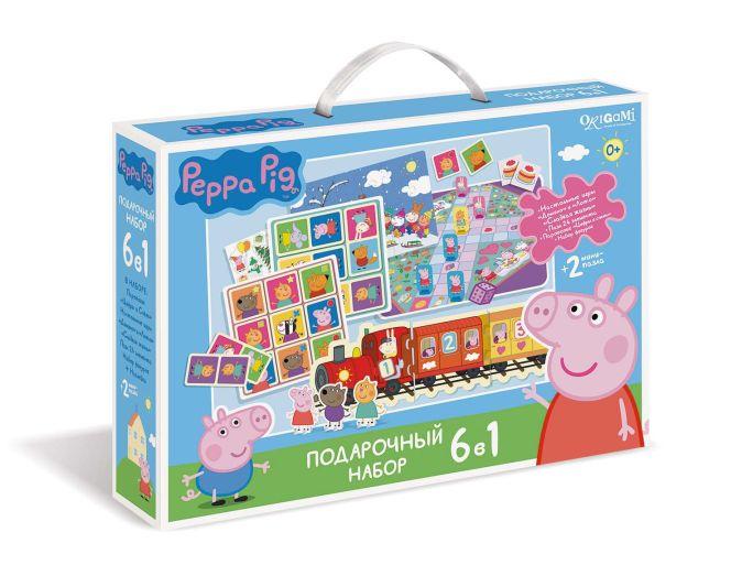 Набор Подарочный 6в1. Свинка Пеппа. Давай играть!