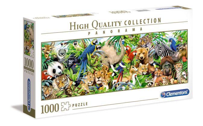 Пазл 1000 эл. Мир диких животных