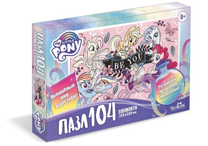 Пони.Пазл.104Эл.Розовые пони.05708
