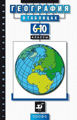 География в таблицах.6-10кл. Справ.пособие (Климанов) Климанова О.А.