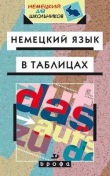 Немецкий язык в таблицах. Справ.пособие.(Лукин).