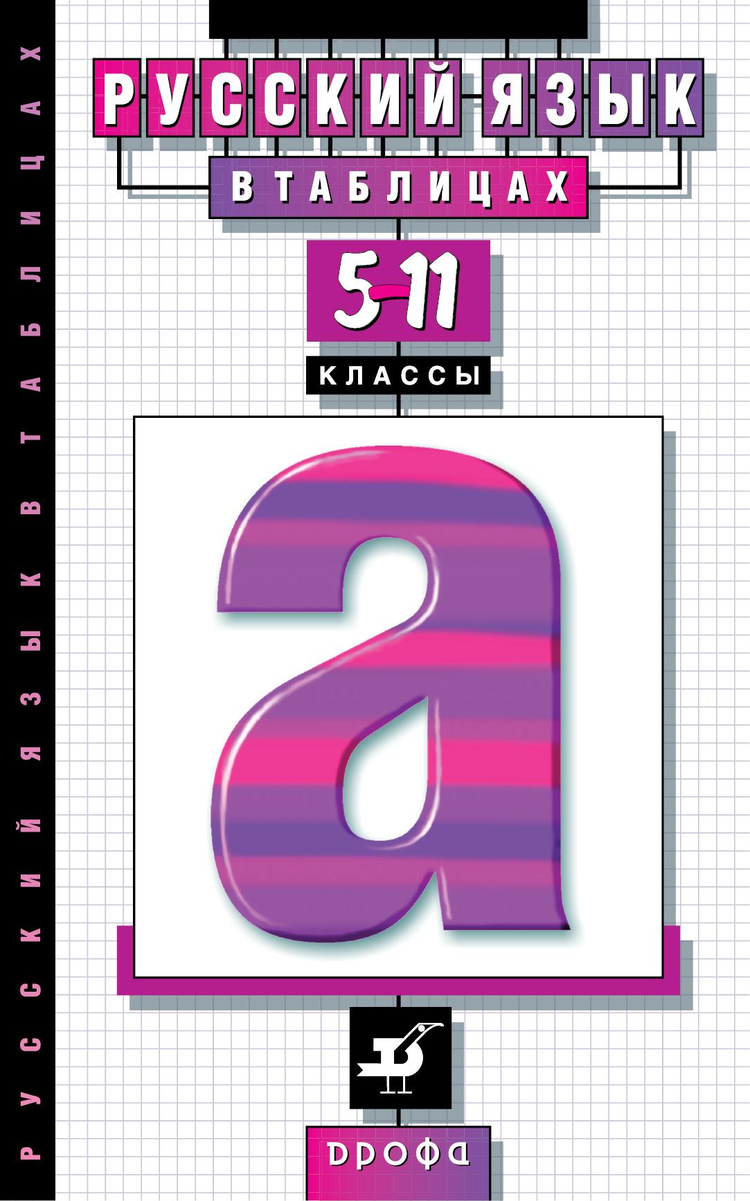 Русский язык в таблицах. 5–11 классы. Наглядное пособие от book24.ru
