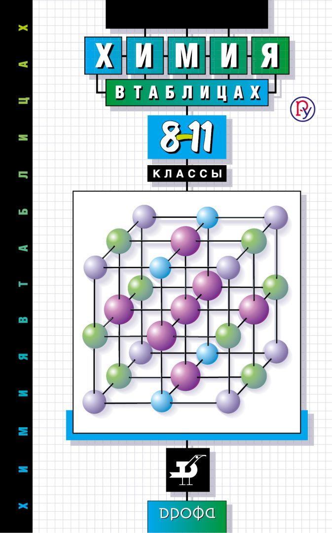 Химия в таблицах. 8–11 классы. Справочное пособие Насонова А.Е.