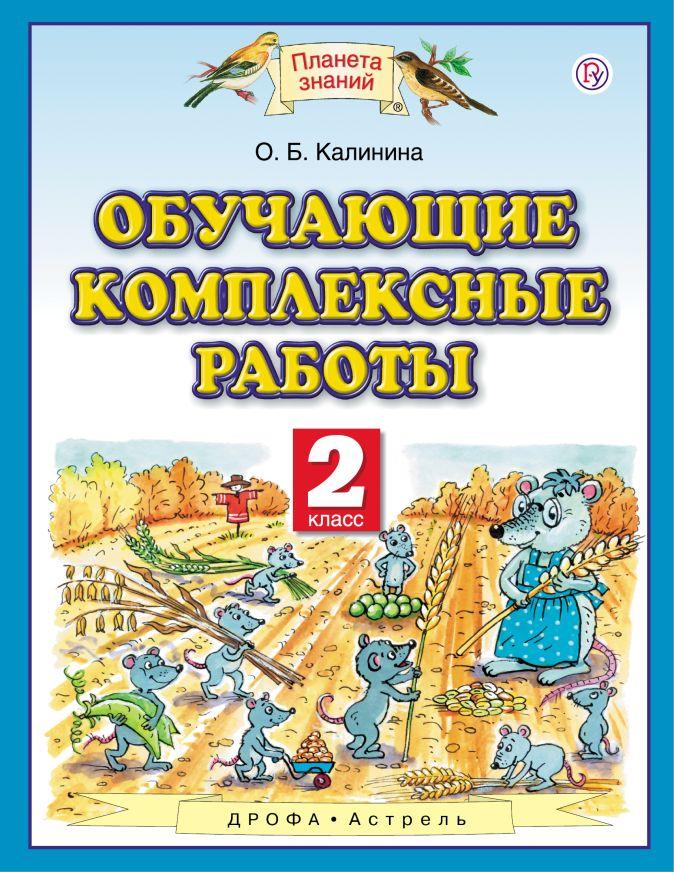 Обучающие комплексные работы. 2 класс Калинина О.Б.