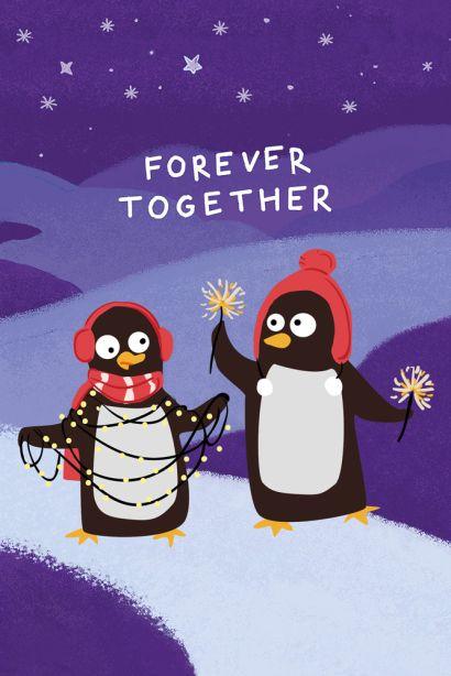 Forever together (Софт-тач тетрадь) - фото 1