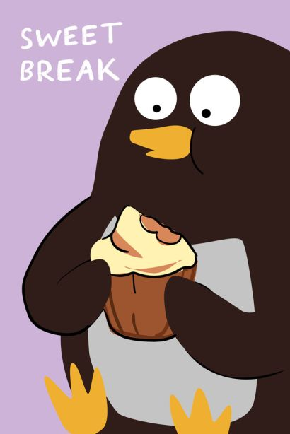 Sweet break (Софт-тач тетрадь) - фото 1