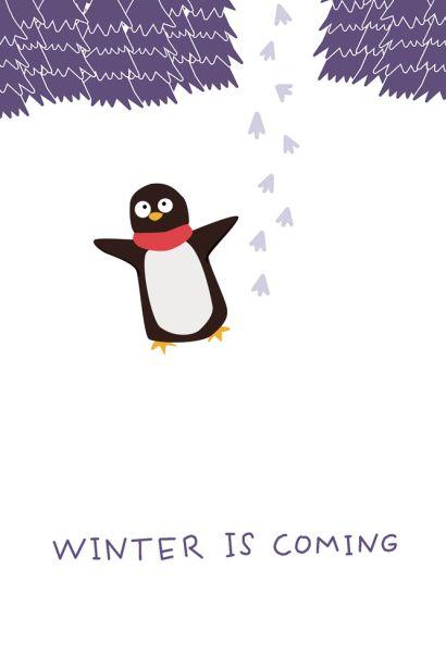 Winter is coming (Софт-тач тетрадь) - фото 1
